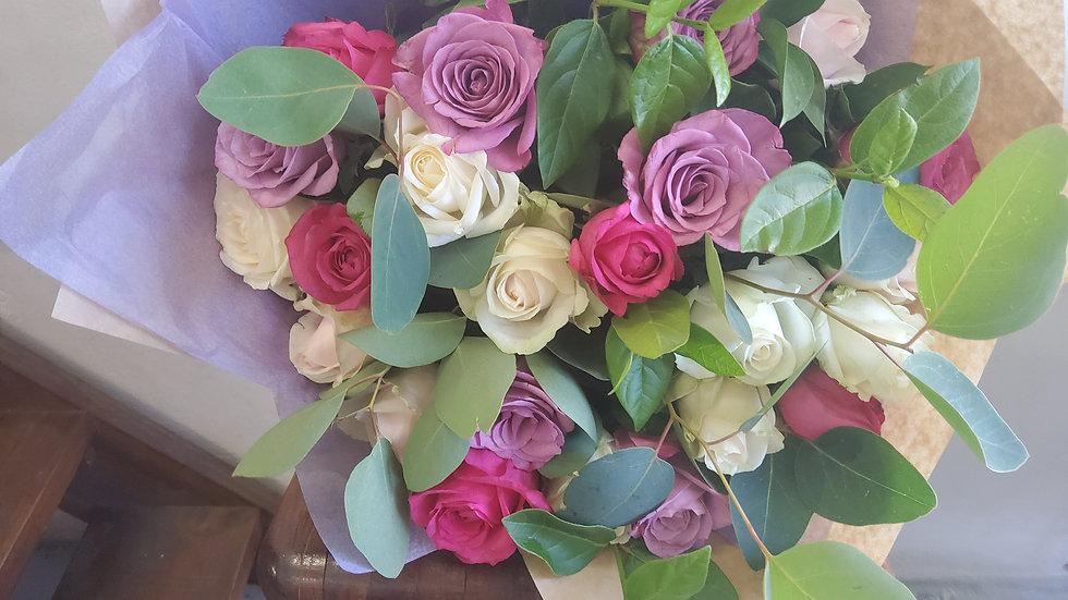 Pastel Rose Bunch