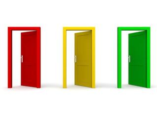 444 - 3 Open Doors