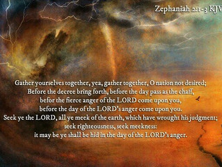Prophetic Word for the 23rd of October 2020