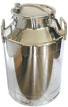 Stainless Steel Milk Can with Cover