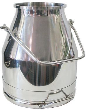 Stainless Steel Bucket - Short Handle