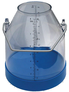 Plastic Milk Bucket - Long Handle