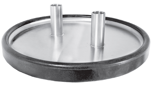 Stainless Straight Inlet Trap Lid with gasket