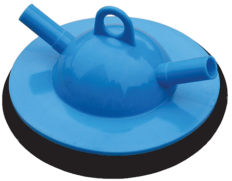 Blue Plastic Trap Lid