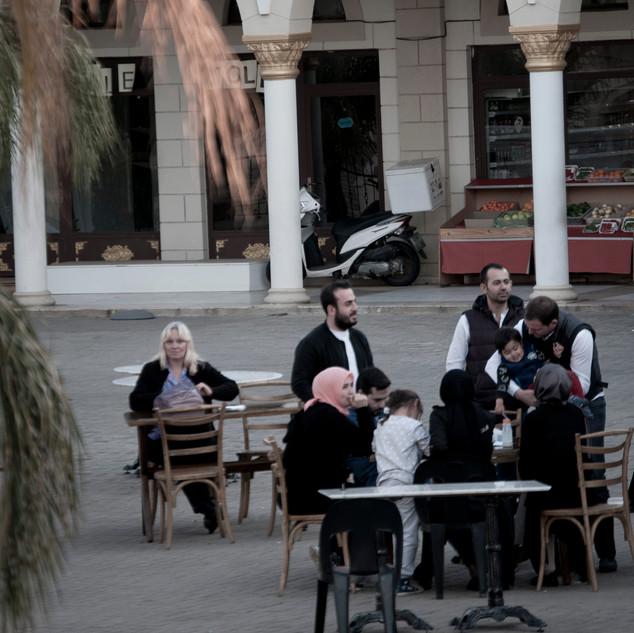 The Nizamiye Mosque Courtyard 24 june 2018