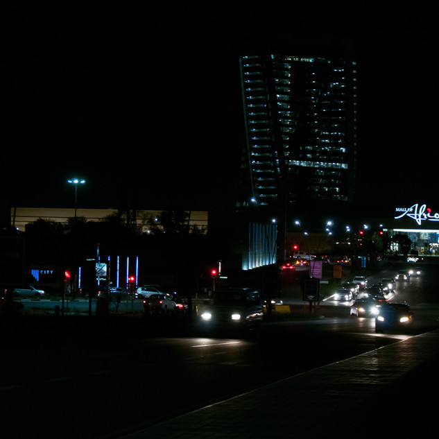 Mall of Africa at Night