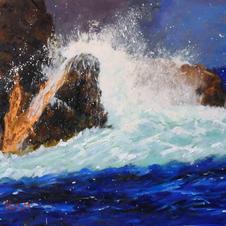Wave Break at Sara Anne Rocks
