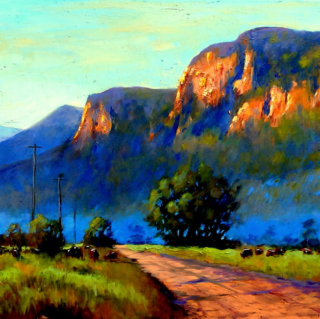 Road to Glen Davis