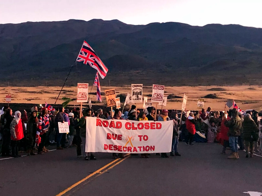 Protests in Hawai'i over Thirty Meter Telescope