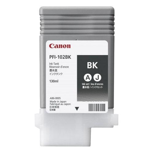 Cartucho de tinta Canon IPF 710/750 Negro 130ml