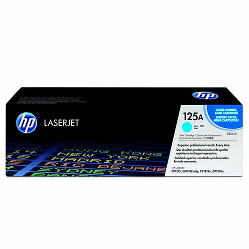 Toner HP CB541A/125A Cyan alternativo