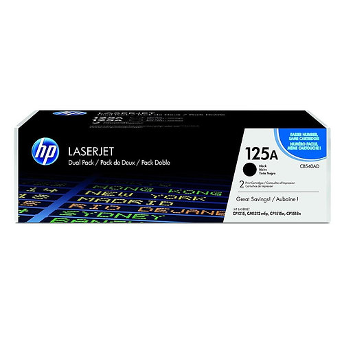 Toner HP CB540A/125A Negro alternativo