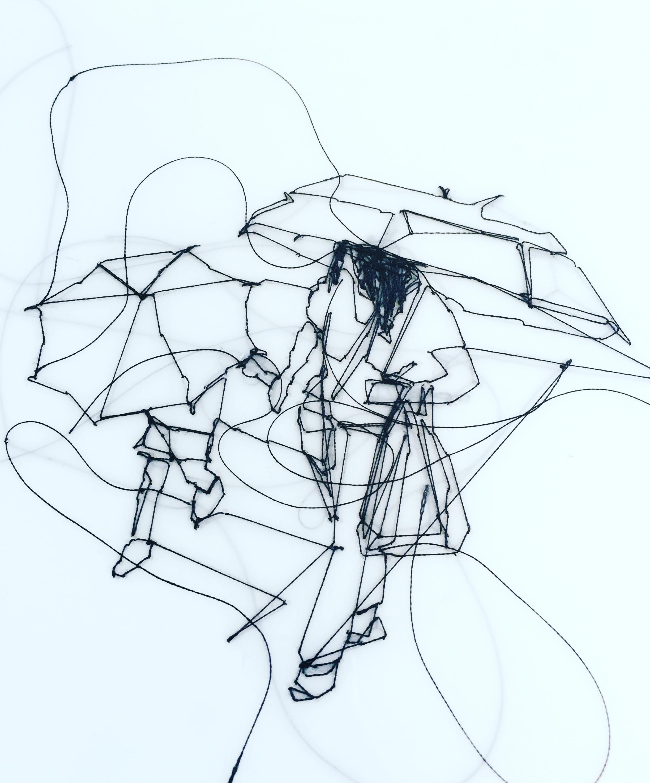 Humble Hero Under The Rain