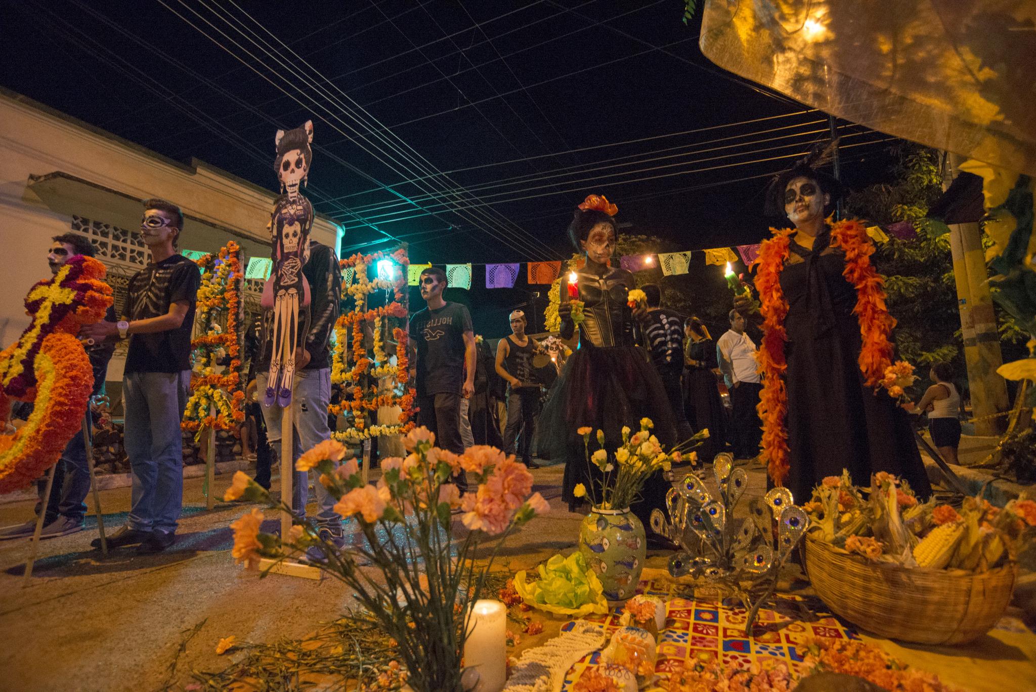 Día de muertos Cancún-Girardot