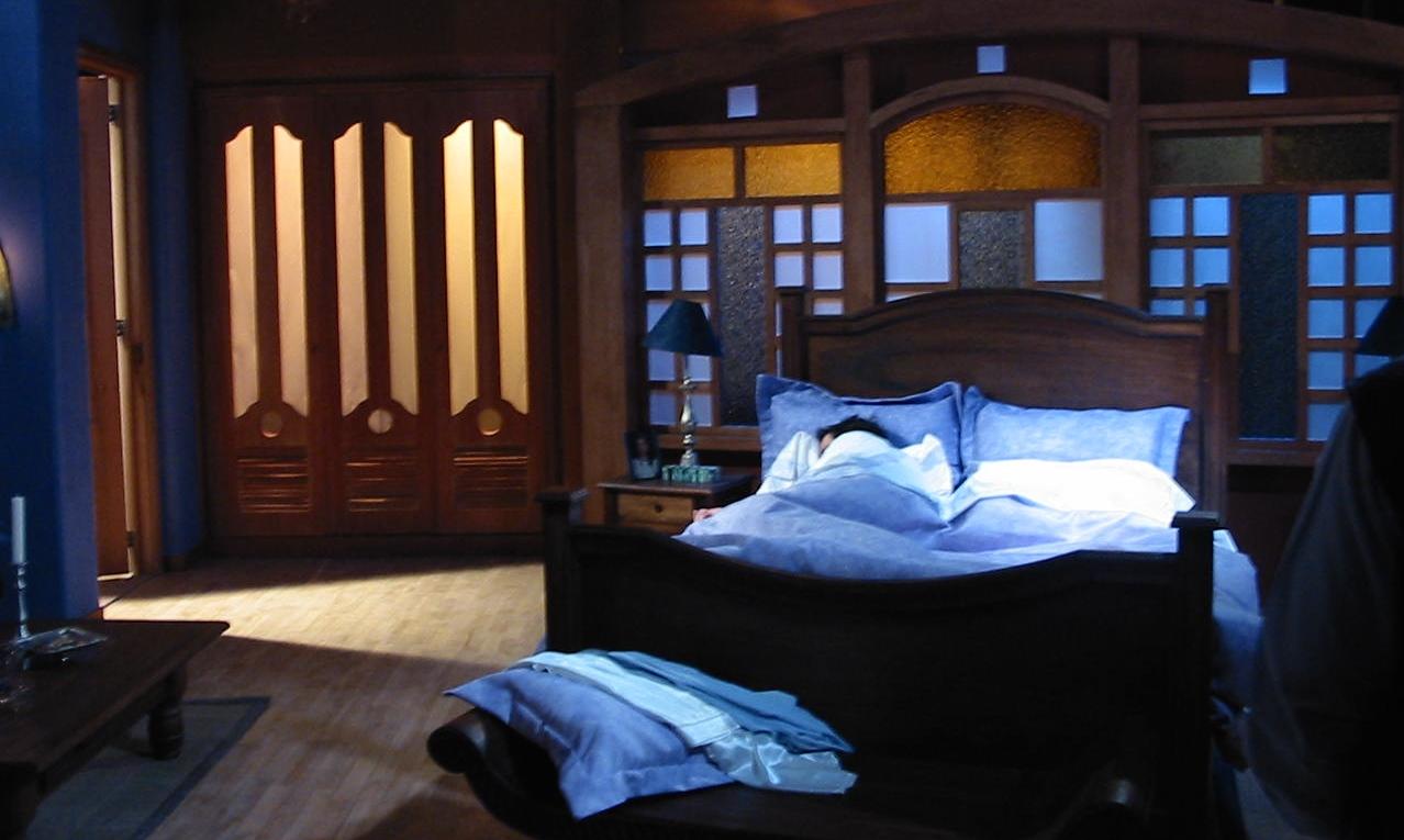 Set habitación protagonista-estudio