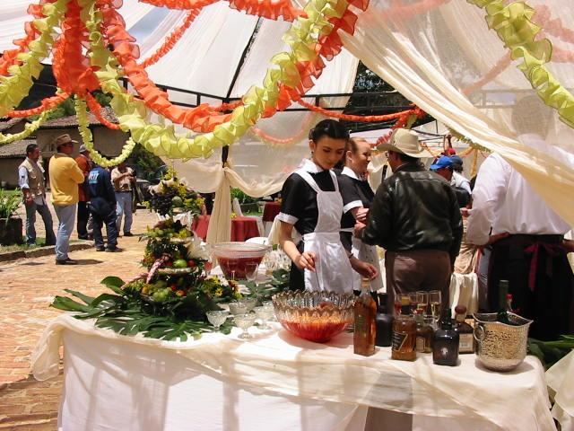 Fiesta en la hacienda