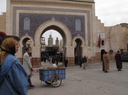 Entrada a Medina-locación Fez