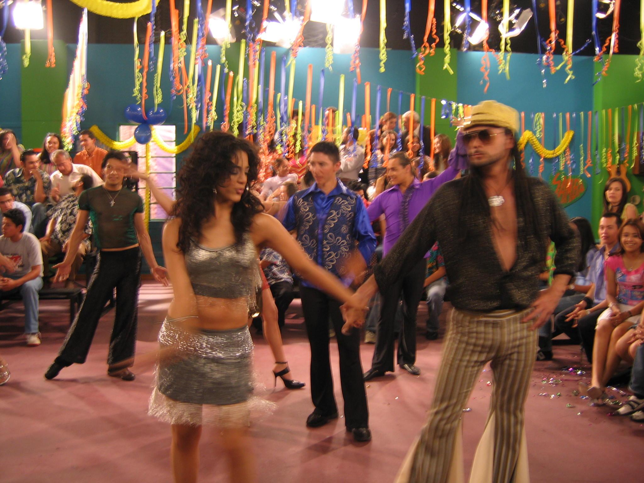 Concurso de baile-set estudio