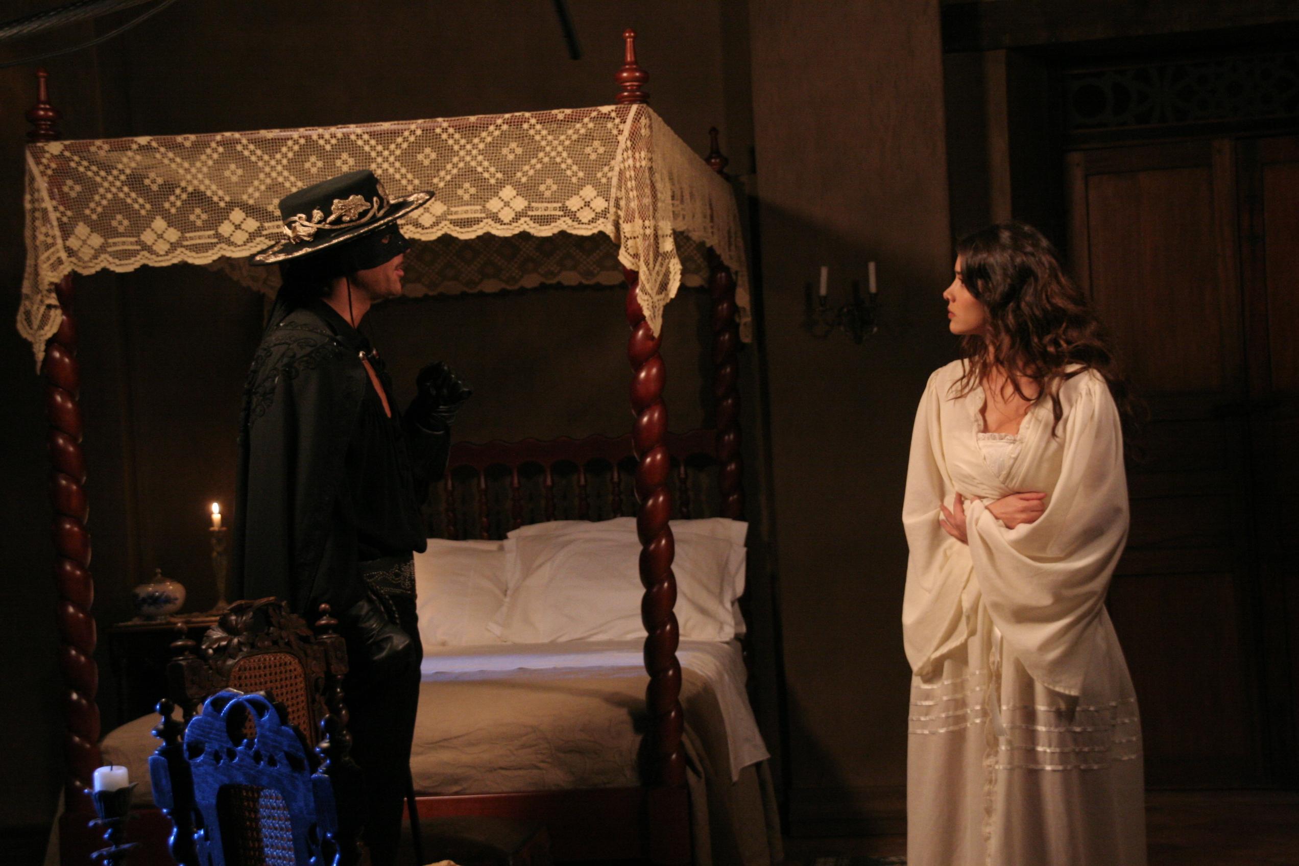 Zorro visita a su amada