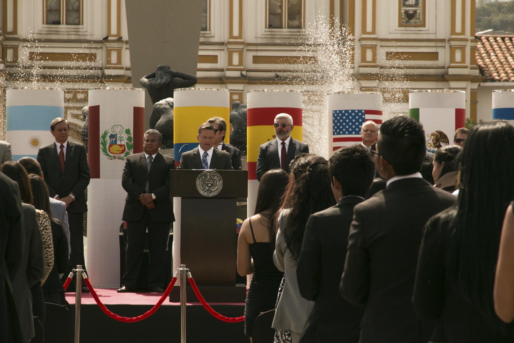 Cumbre contra el terrorismo Medellín