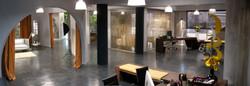Oficinas de la agencia-estudio