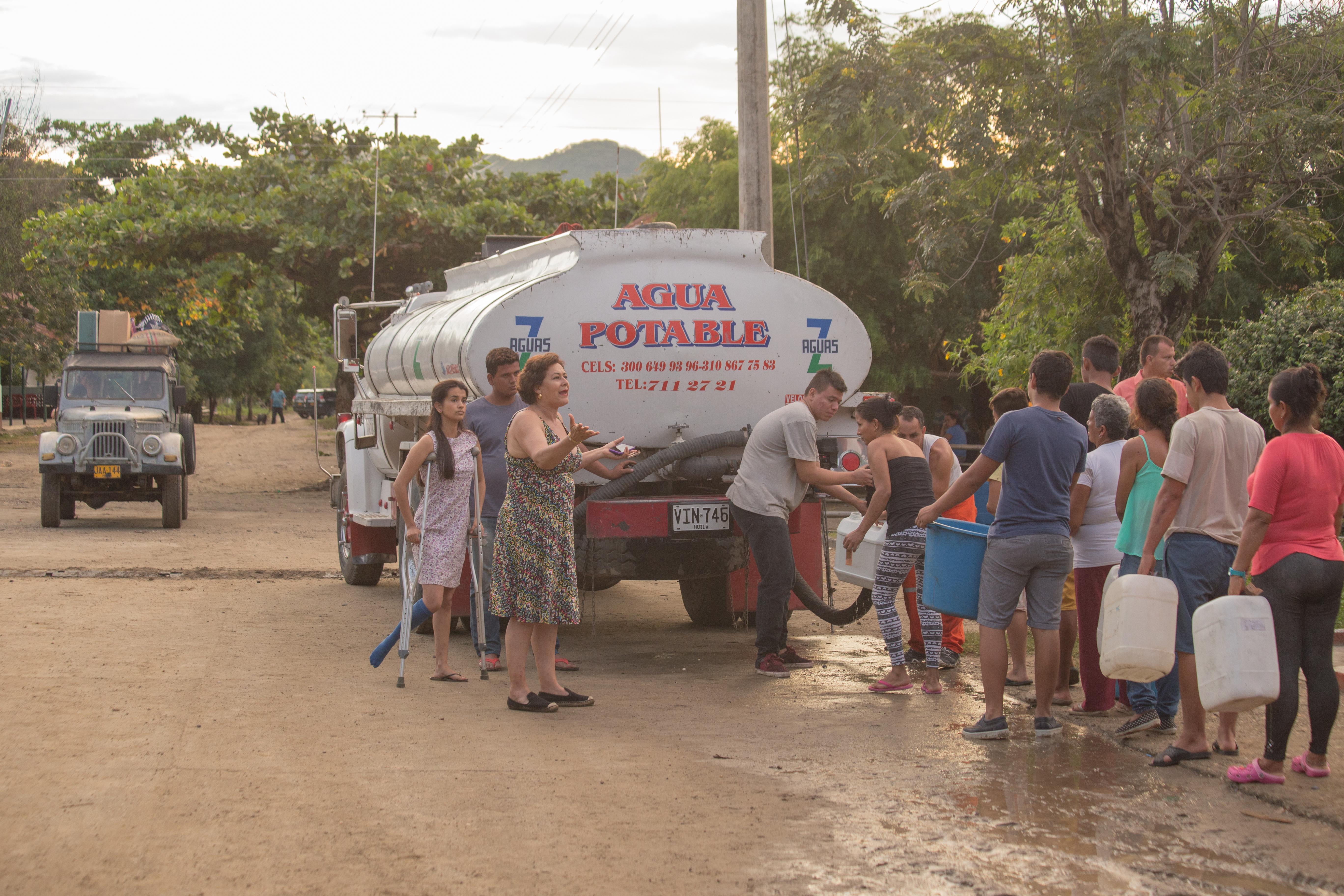 Carro tanque de agua Z