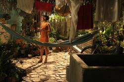 Patio casa Zara-Montaje estudio RTI