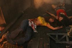 Víctimas del incendio del mercado