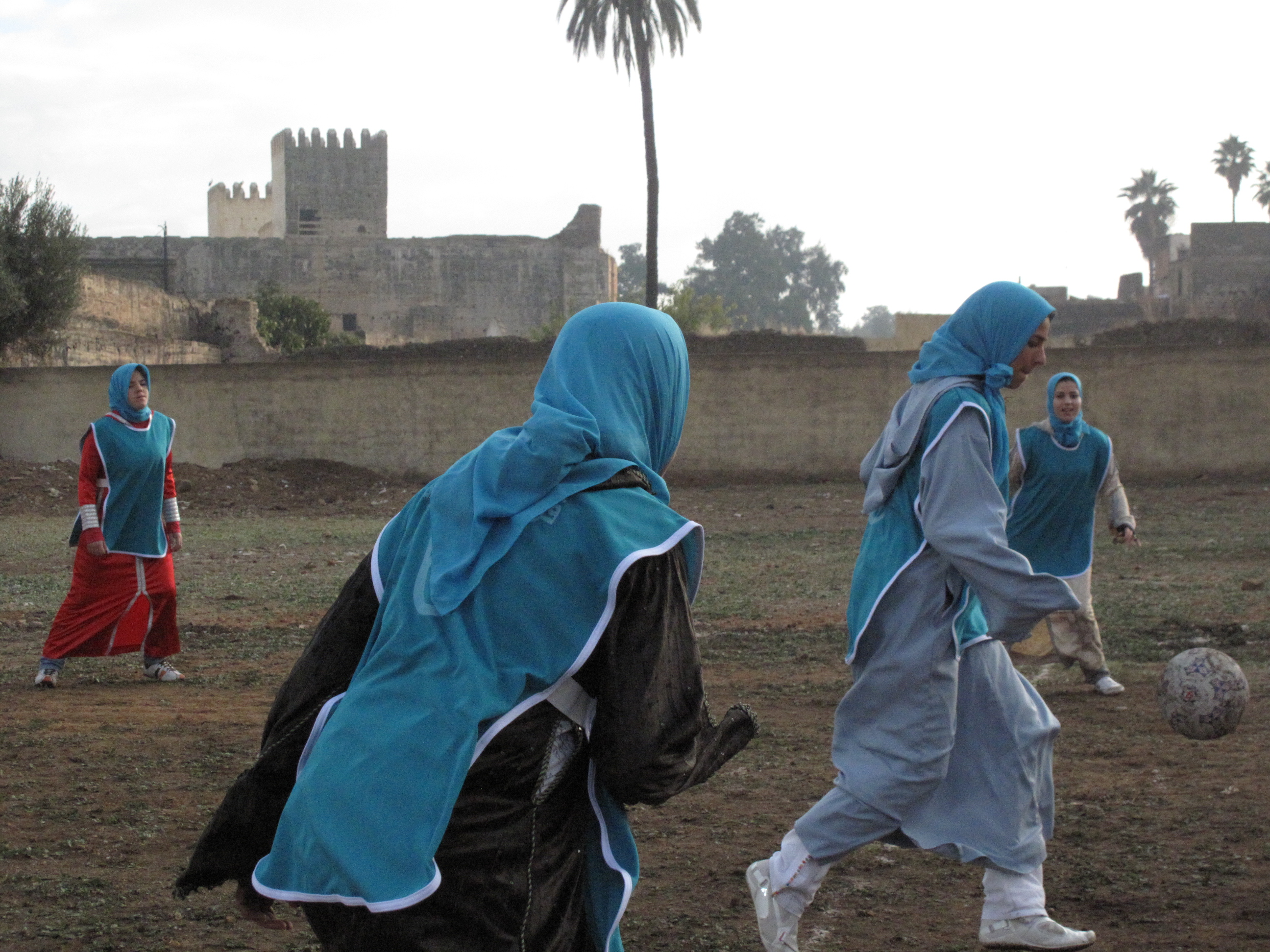 Futbol femenino en Marruecos