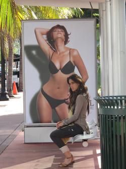 Protagonista en Miami beach