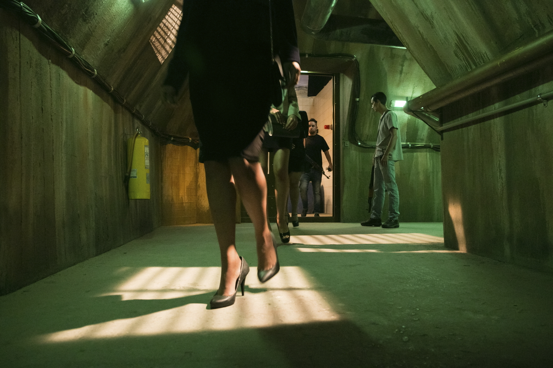 Subterraneo casa Diablo-Set estudio