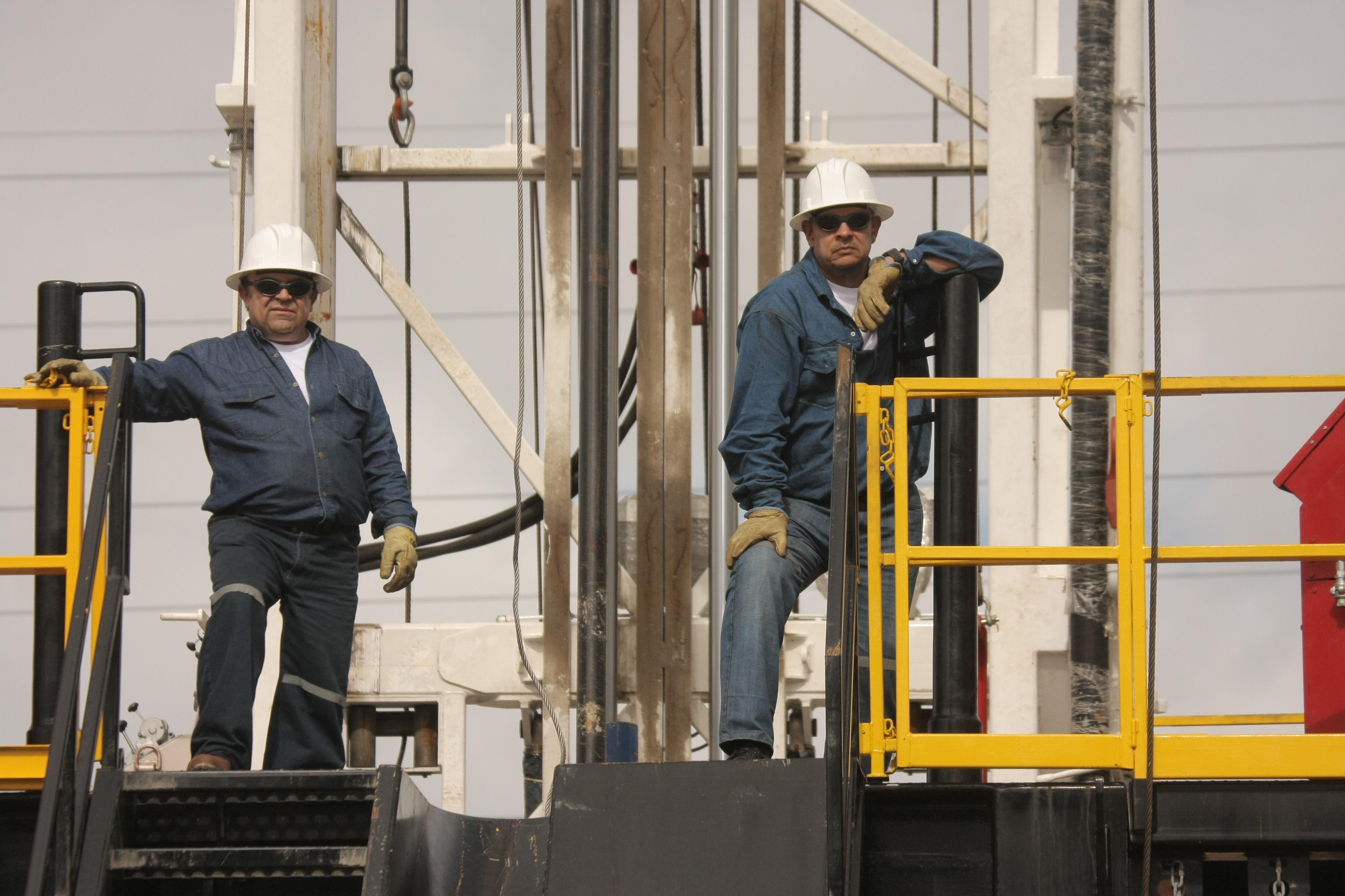 Trabajadores del petroleo