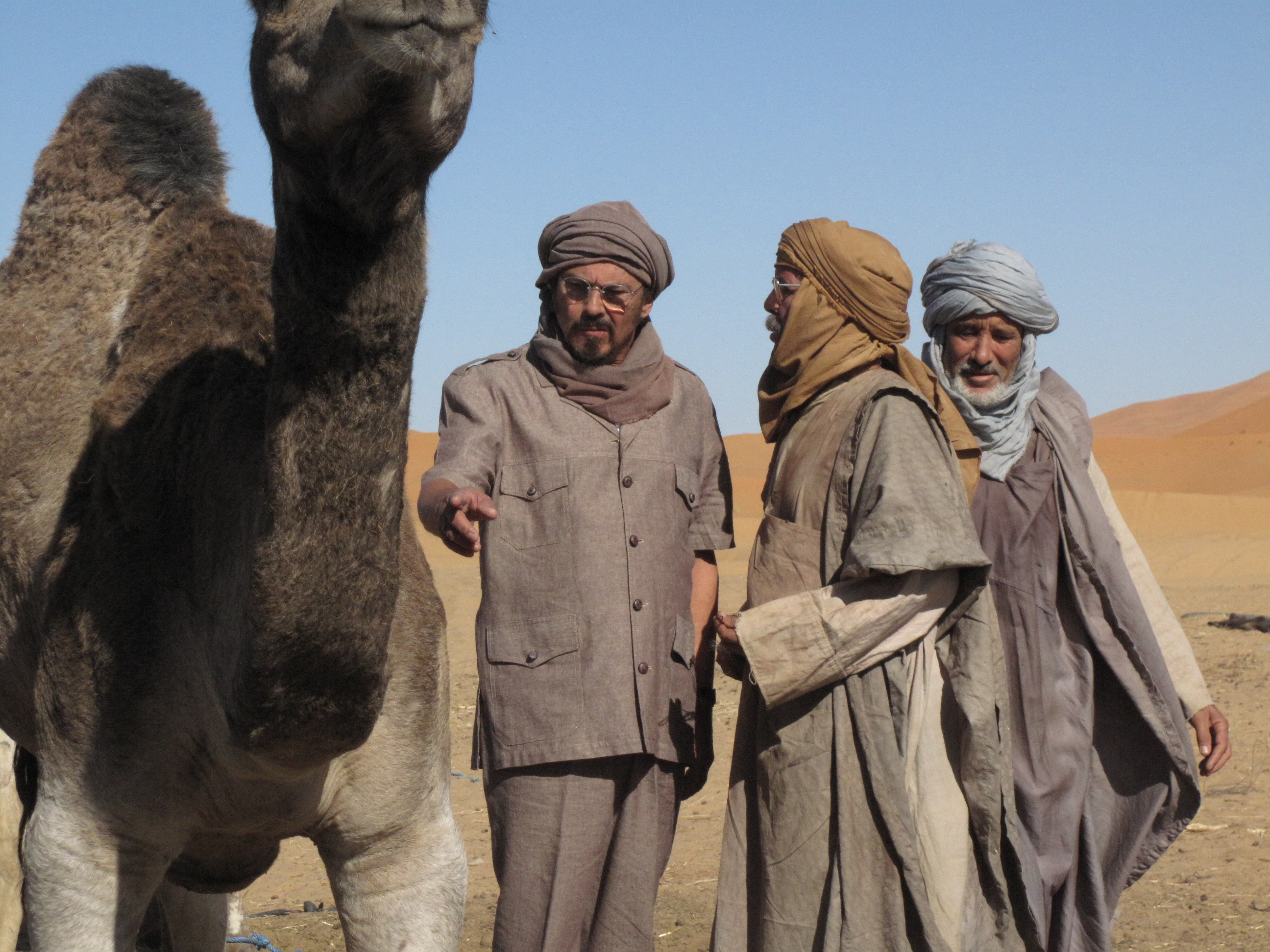 Comprando camellos-sahara