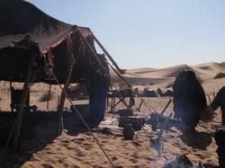Campamento Tuareg en el Sahara