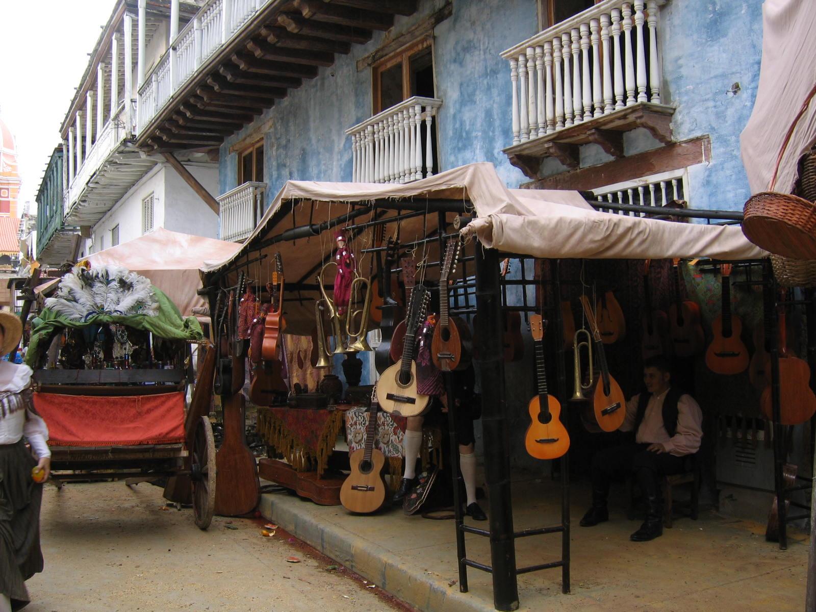 Mercado en Barcelona-Cartagena