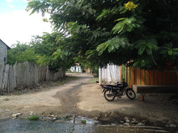 Calle de la casa de Lucia