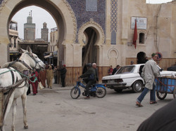 Entrada al zoco Medina de Fez