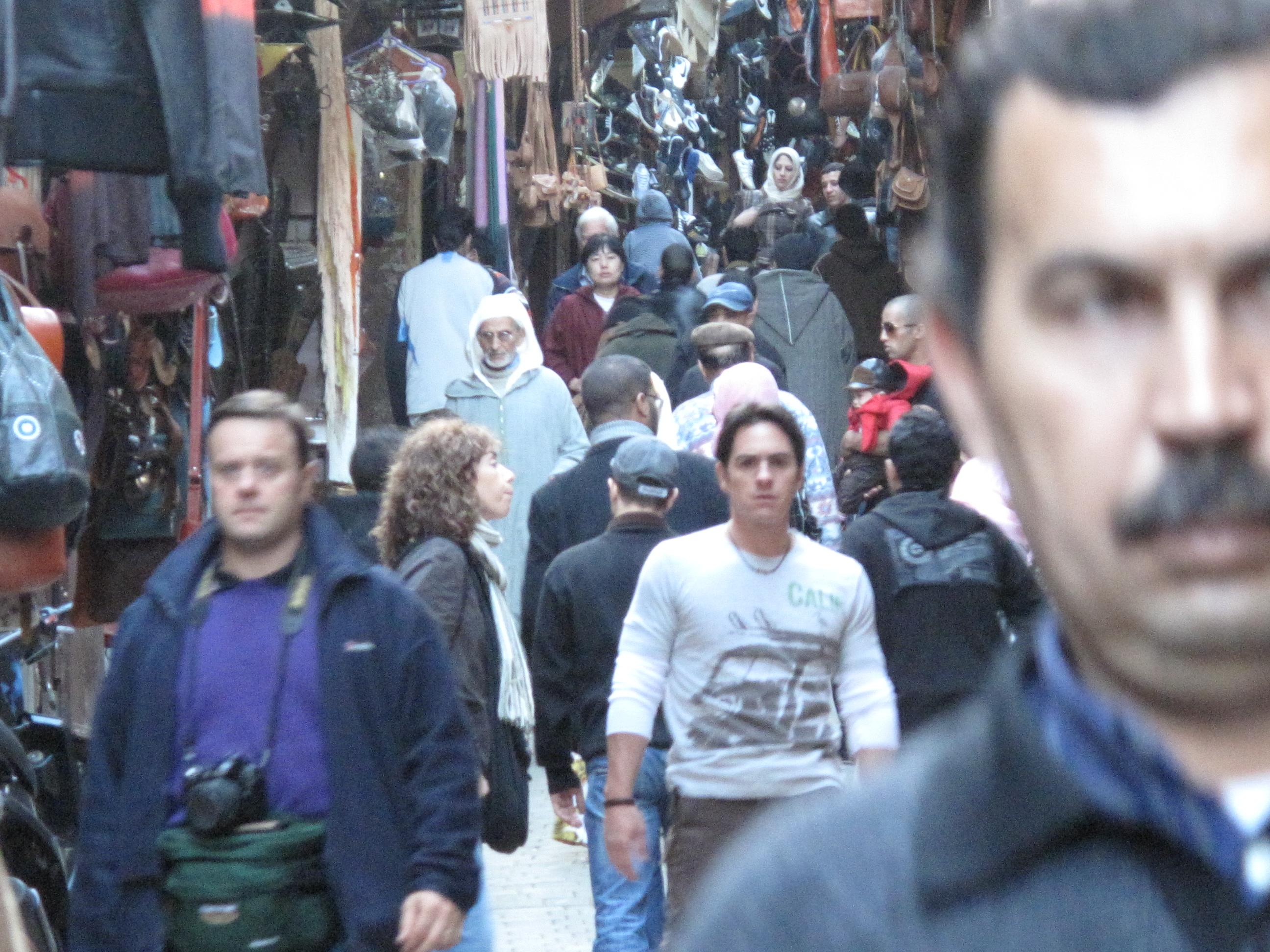 Protagonista entre la multitud Fez