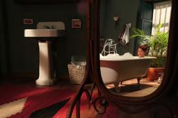 Baño hacienda principal-estudio