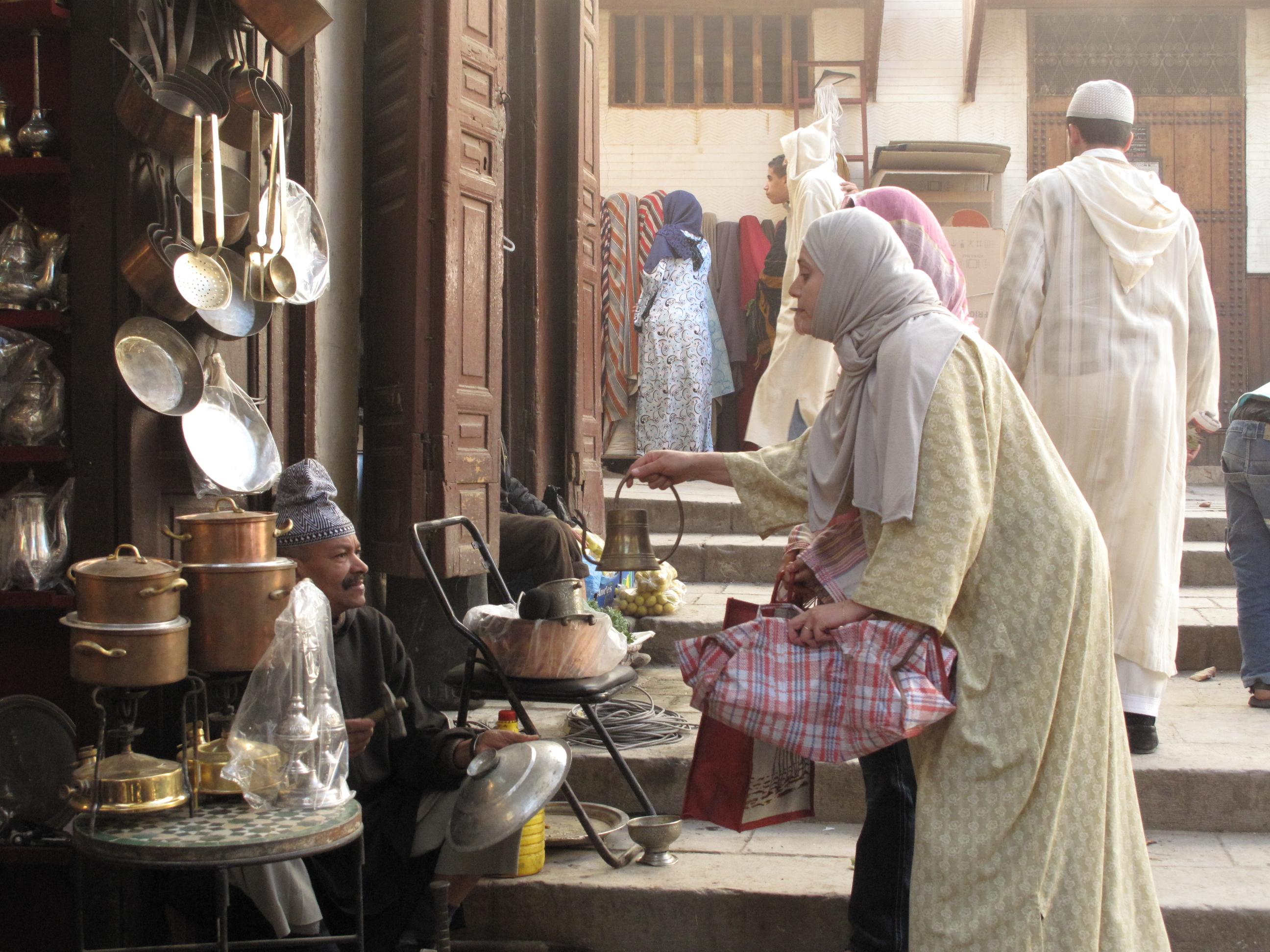 Personajes en Fez