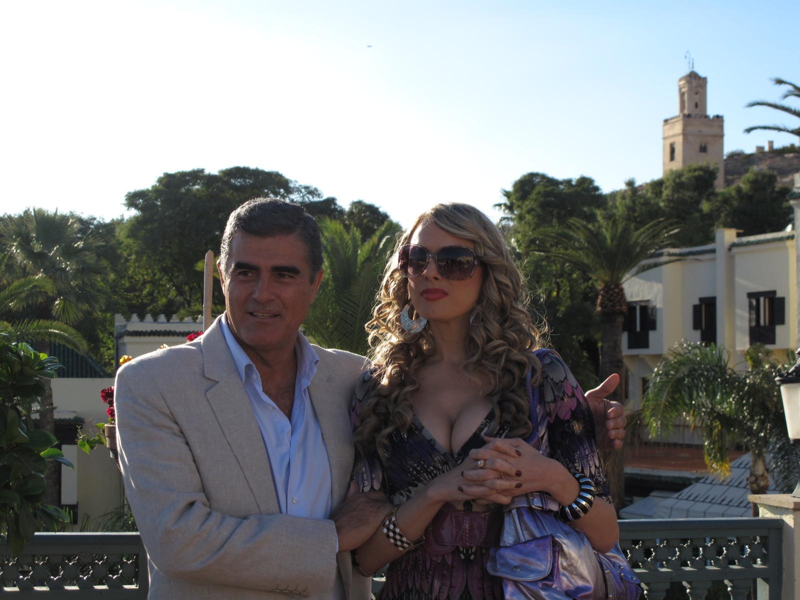 Papá y su novia