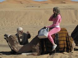 Novia del papá en el Sahara