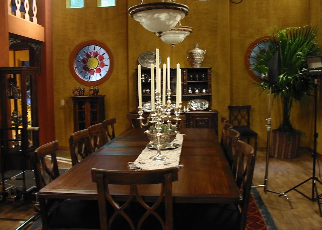 Set Comedor hacienda - estudio
