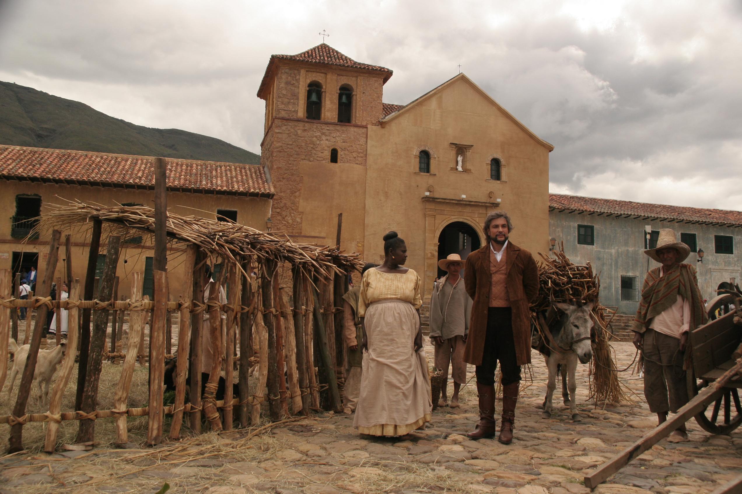 Don Alejandro y su criada