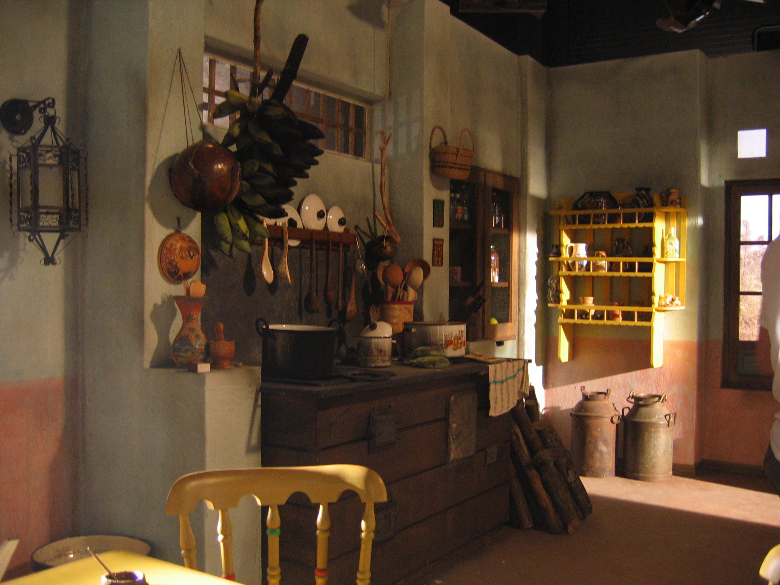 Cocina hacienda principal-set estudio