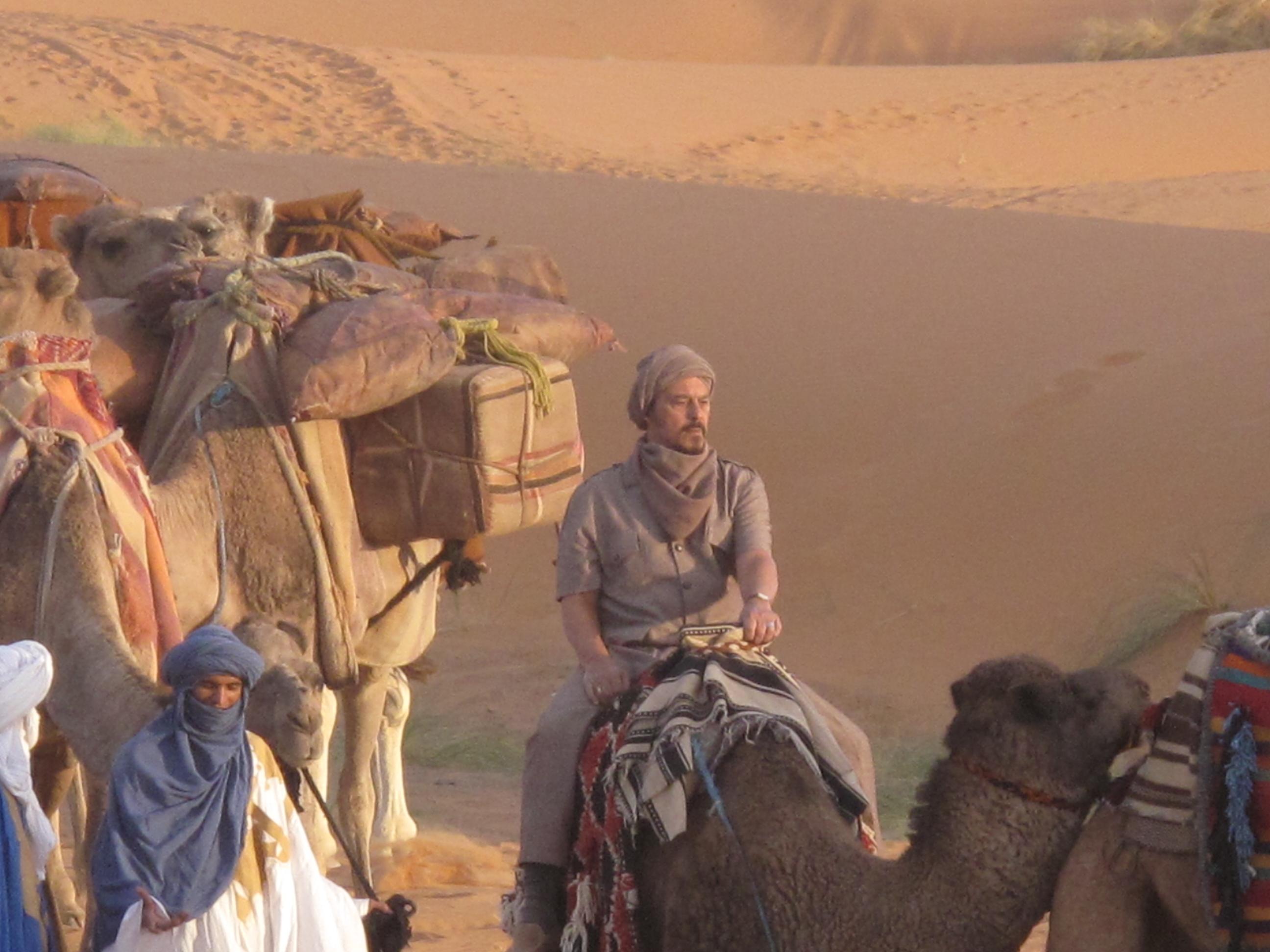 Travesia por el desierto
