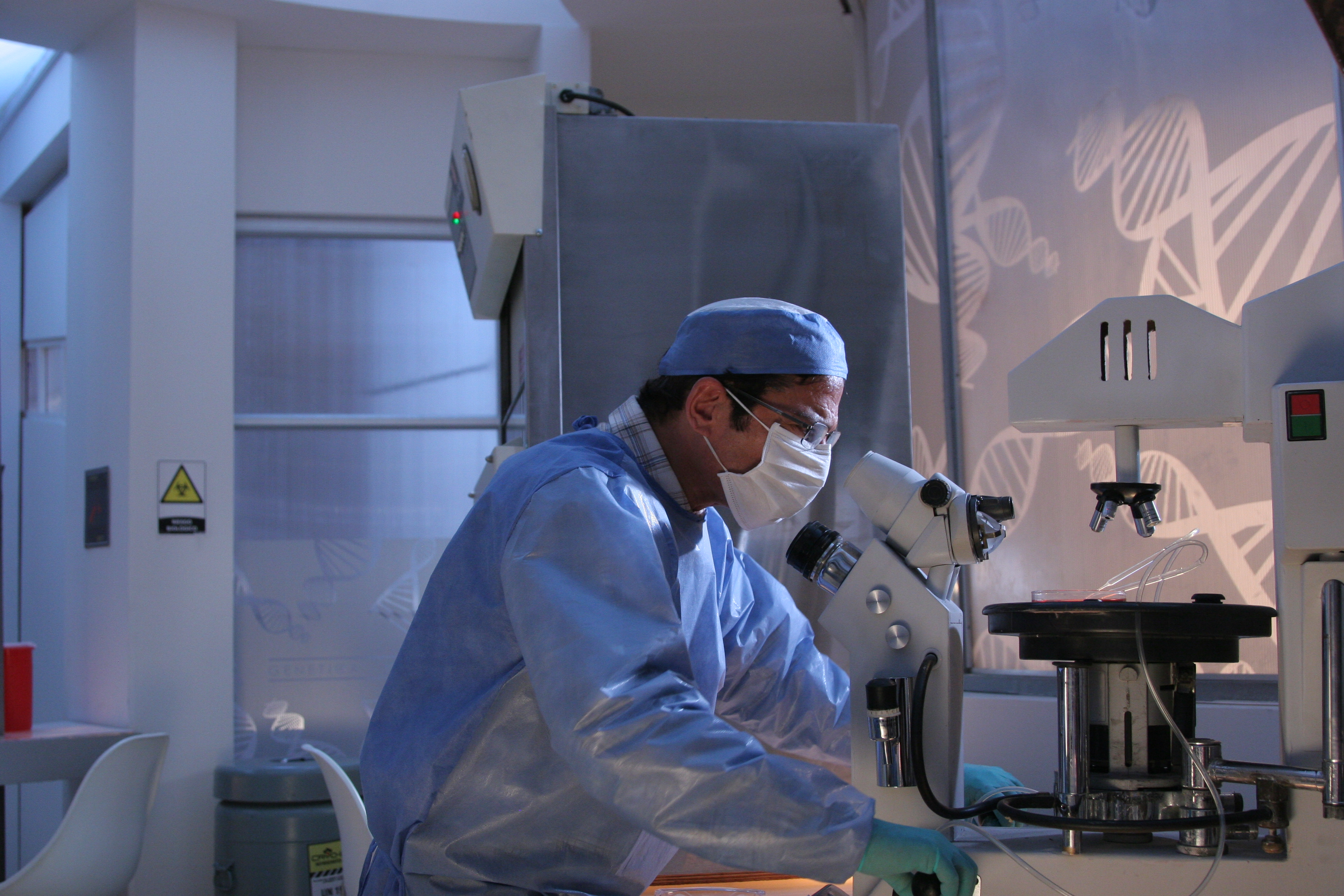 Laboratorio donde se hizo el clon-estudio