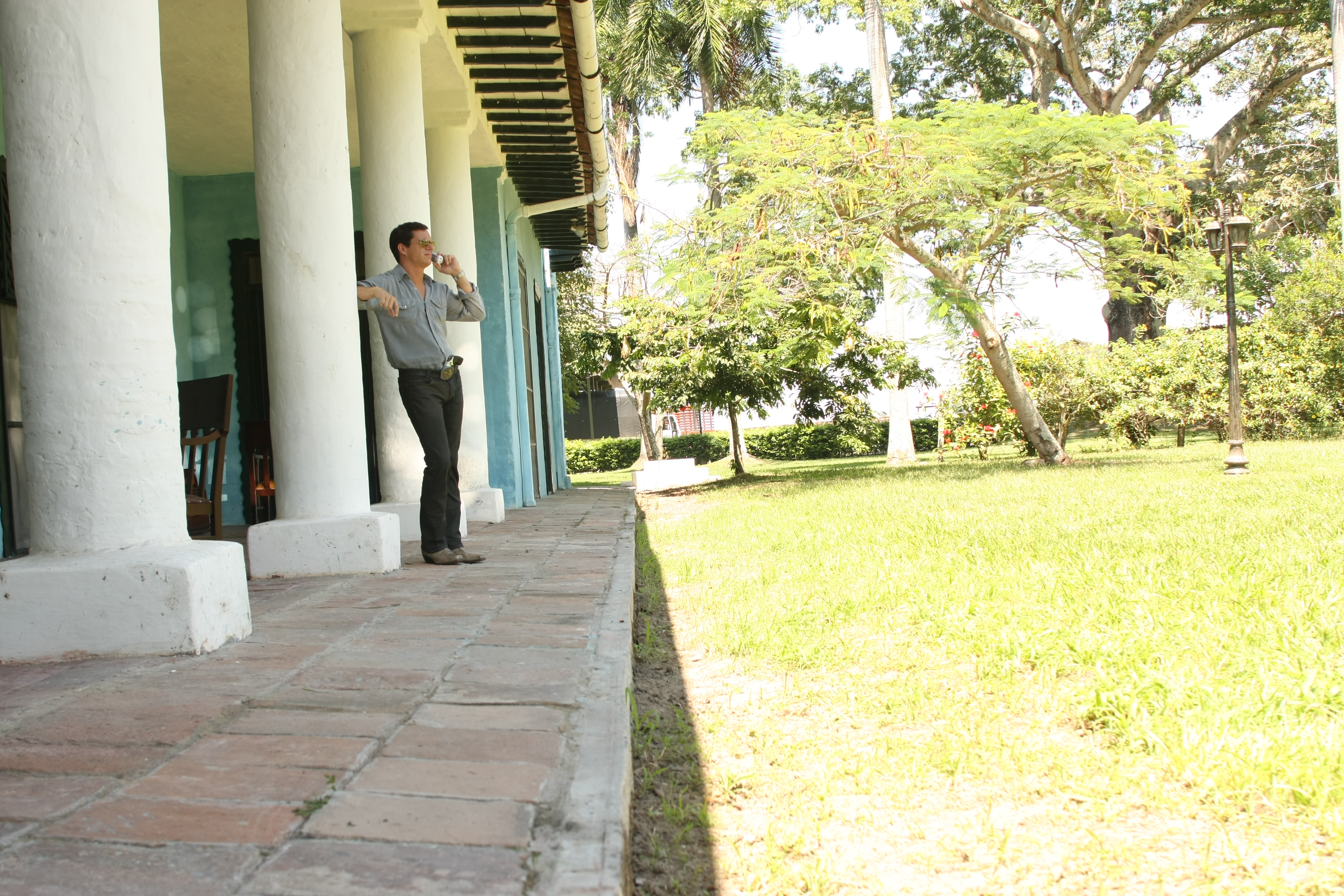 Hacienda protagonista-locación Guamo