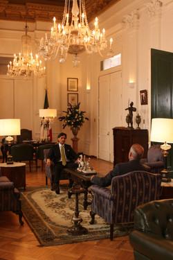 Palacio presidencial Mexicano-Bogotá