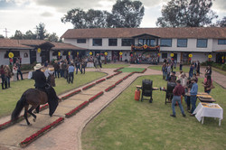 Feria ganadera en Bogotá